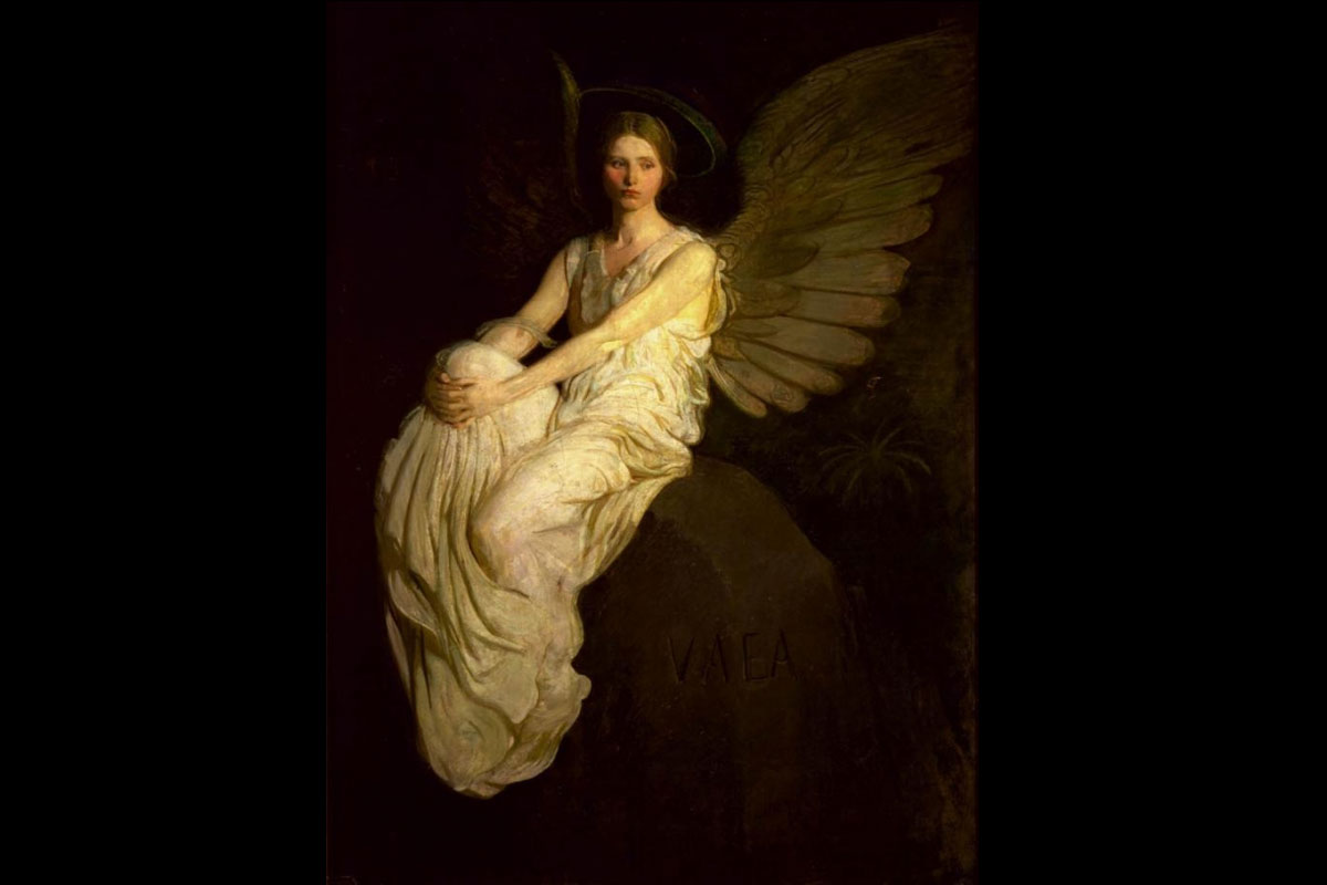 """Memorial"" av Abbott Handerson Thayer"